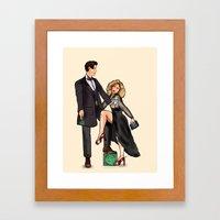 Doctor Whomours Framed Art Print
