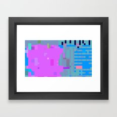 taintedcanvas107x2a Framed Art Print
