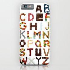 Candy Alphabet Slim Case iPhone 6s