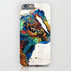 Colorful Skunk Art - Dee Stinktive - By Sharon Cummings Slim Case iPhone 6s