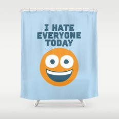 Loathe Is the Answer Shower Curtain