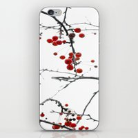 Little Red Kisses iPhone & iPod Skin
