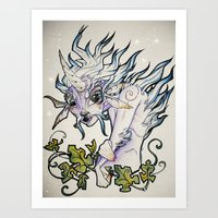 Unicorn Elf Art Print