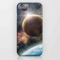 iPhone & iPod Case featuring Welcome to the Space by Liz Molnar