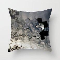 Sky Surrealism. Throw Pillow