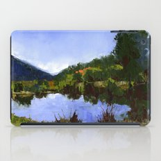 Reflections On The Pond iPad Case