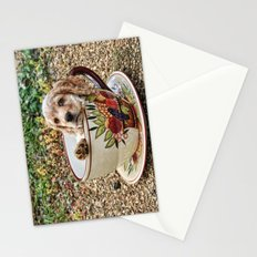Teacup Puppy Stationery Cards
