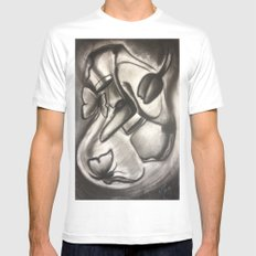 Love Brings Pretty Things Mens Fitted Tee White SMALL