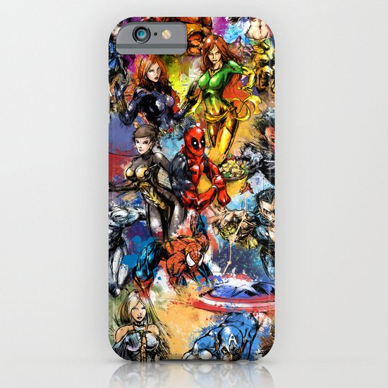 Marvel MashUP iPhone & iPod Case