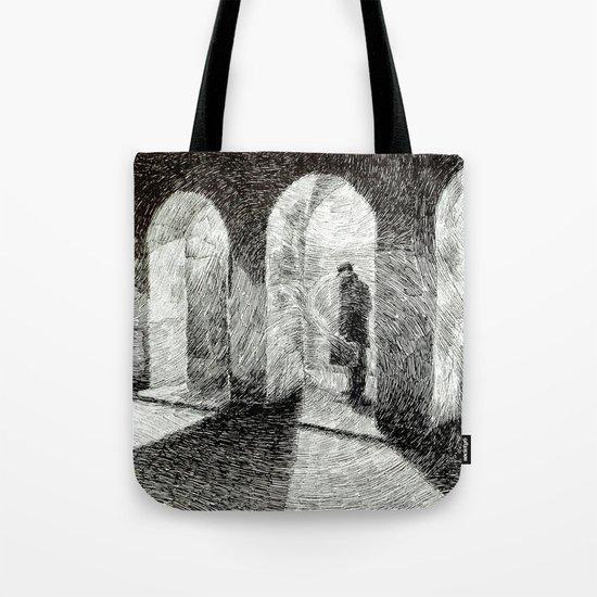 Fingerprint - Arcades Tote Bag