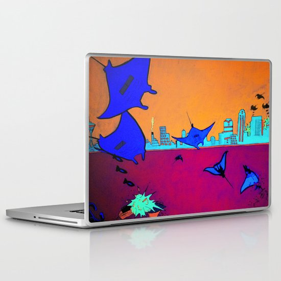 Manta Madness Laptop & iPad Skin