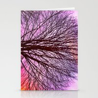 Blossom in the Sky  Stationery Cards