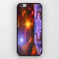 Alien coast iPhone & iPod Skin