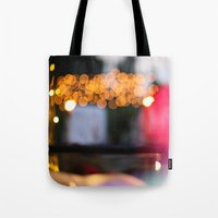 Blur Of Colour Tote Bag