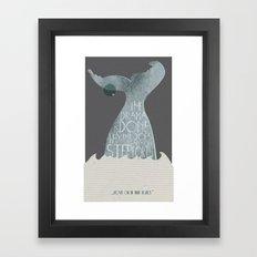 Call me Ishyael Framed Art Print