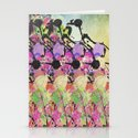 Sun Showers On Flowers Stationery Cards