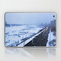 NYC East River Snow Laptop & iPad Skin