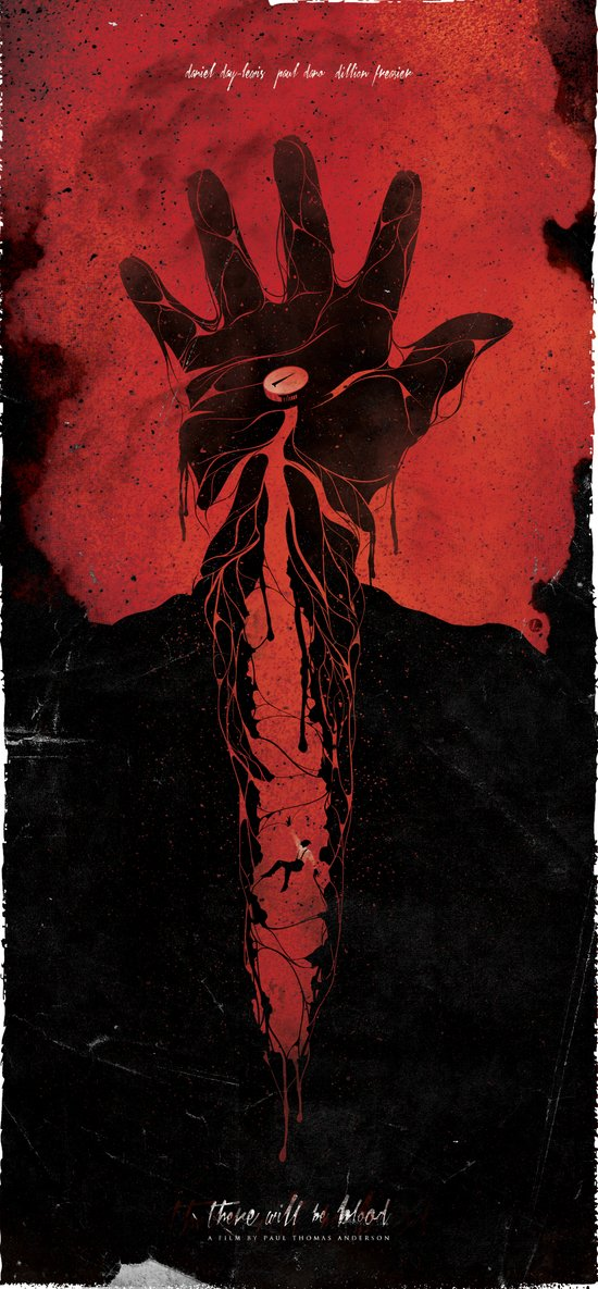 There Will Be Blood alternative movie poster Art Print