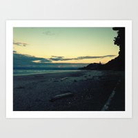 Ohope Sunset Art Print