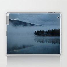 Foggy lake morning Laptop & iPad Skin