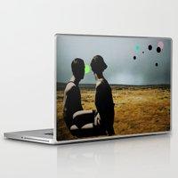 Laptop & iPad Skin featuring The Looking Field by Courtney Husselmann