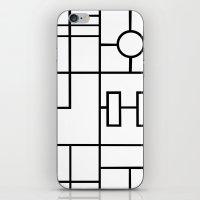 PS Grid iPhone & iPod Skin
