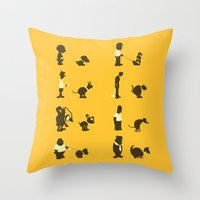 Please Pick Up After You… Throw Pillow