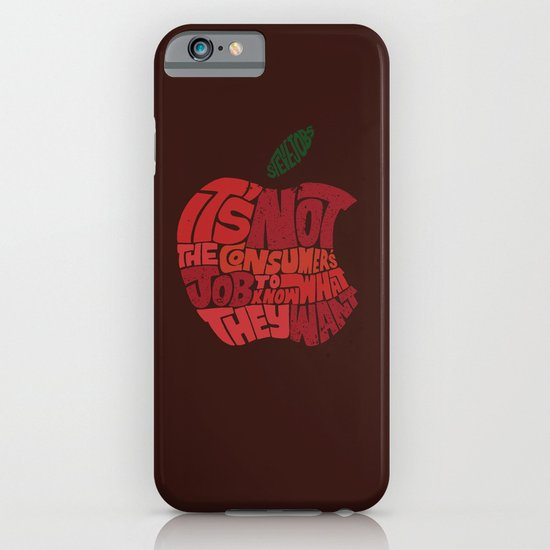 Steve Jobs on Consumers iPhone & iPod Case