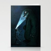 monster Stationery Cards featuring Monster by MaComiX