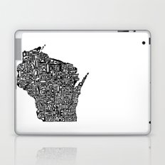 Typographic Wisconsin Laptop & iPad Skin