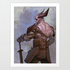 The Iron Bull (Dragon Age) Art Print