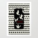 Dove Stamp Art Print