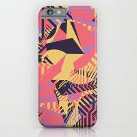 Dazzle Camo #03 - Purple & Yellow iPhone 6 Slim Case