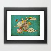 My Story Framed Art Print