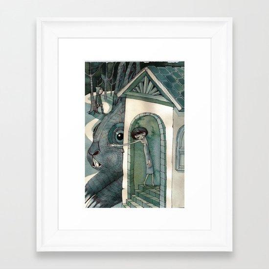 re:1 Framed Art Print
