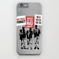 iPhone & iPod Case featuring Semi-Protesting by rob dobi