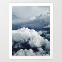 East Coast Cumulus Art Print