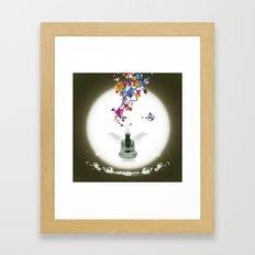 Priere Framed Art Print