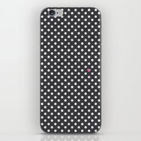 Polka Dots Walls iPhone & iPod Skin