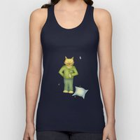 You are the cat's pajamas - blue Unisex Tank Top