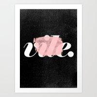 Vile Art Print