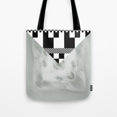 waves/grid #1 Tote Bag