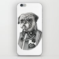 iPhone & iPod Skin featuring Mr. Pug by SilviaGancheva