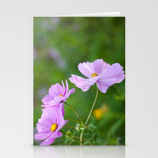 Cosmos Stationery Card
