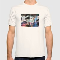 horse 02 Mens Fitted Tee Natural SMALL
