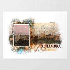 Al Hambra Art Print