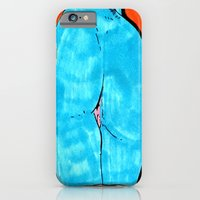 blue butt iPhone 6 Slim Case