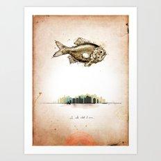First Print... Art Print