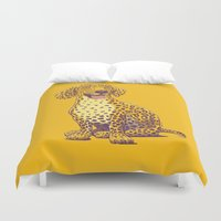 Take a Woof on the Wild Side! Duvet Cover