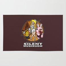 Silent Mushroom Rug